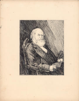 Sir William Young, Kt. Chairman of the Board of Governors, 1848–1885 : [drawing]