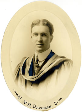 Portrait of Victor David Davidson : Class of 1915