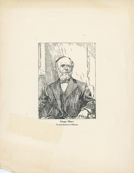 Engraving of George Munro