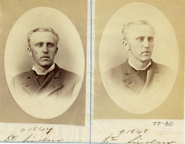Portraits of Dr. Sinclair from the Medical Society of Nova Scotia