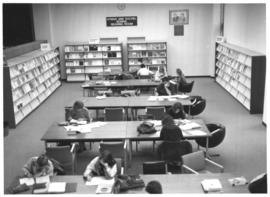 Photograph of the Hyman and Rachel Boniuk Reading Room