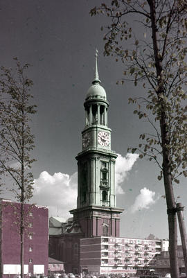 Photograph of St. Michael's Church in Hamburg