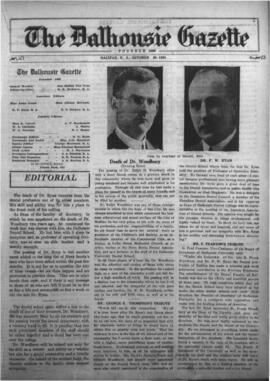 The Dalhousie Gazette, Volume 56, Issue 13