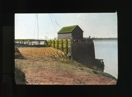 Photograph of low tide in Wolfville, Nova Scotia