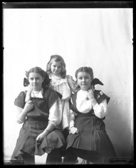 Photograph of Kathleen Waldren, Mary McKenzie & friend