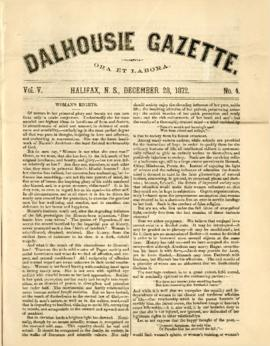 Dalhousie Gazette, Volume 5, Issue 4