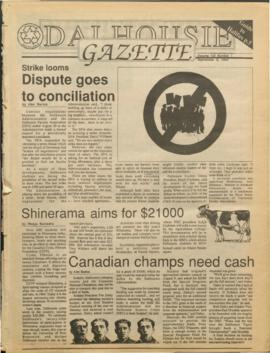Dalhousie Gazette, Volume 123, Issue 1