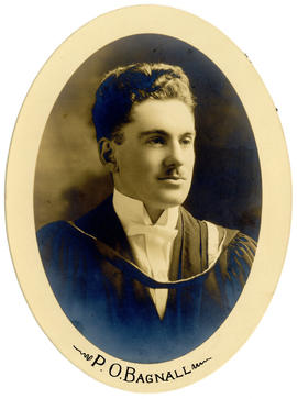 Portrait of Percy Ormiston Bagnall : Class of 1921