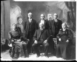 Photograph of the Munro family group