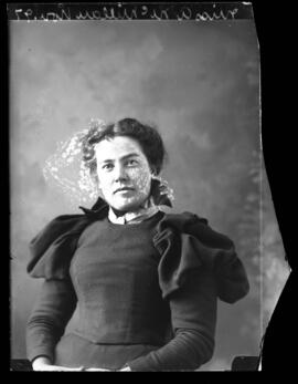 Photograph of Miss A. McMillan
