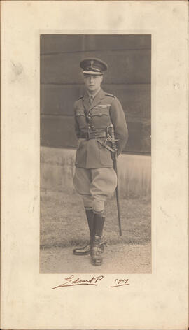 Photograph of Prince of Wales - Edward Albert Christian George Andrew Patrick David Windsor
