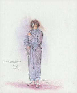 Costume design for Meg : Act III