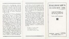 Dalhousie's Academic Ark : A Brief Pen Picture of the Centenary Celebration September 11-13,...