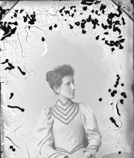 Photograph of Mrs. Bowman