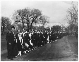 Photograph of a convocation procession
