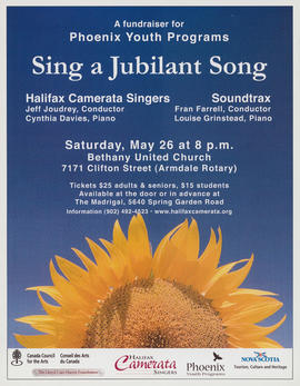 Sing a jubilant song with Soundtrax : [poster]