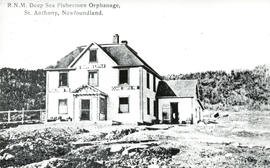 Photograph of Royal National Mission Deep Sea Fishermen Orphanage, St. Anthony, Newfoundland.
