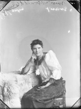 Photograph of Miss McDonald