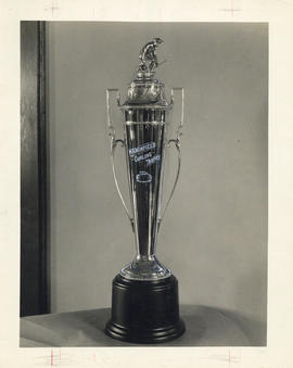 Photograph of the W.A. Winfield curling trophy