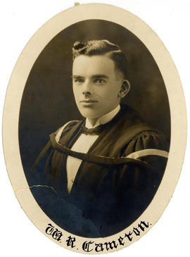 Portrait of William Ross Cameron : Class of 1925