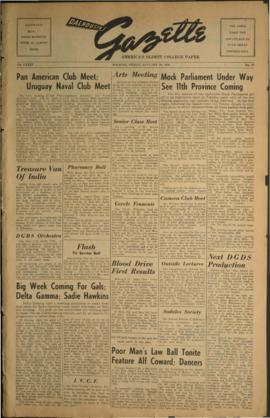 Dalhousie Gazette, Volume 85, Issue 28