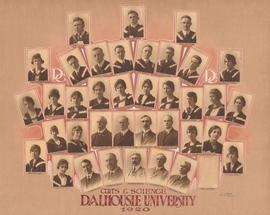 Composite photograph of the Arts and Science Class of Dalhousie University of 1920