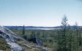 Photograph of the tundra near old Fort Chimo, Quebec
