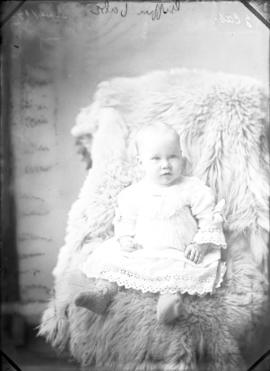 Photograph of Mrs. Griffin's baby