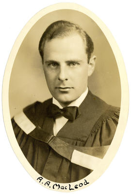 Portrait of A.A. MacLeod : Class of 1949