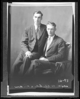 Photograph of Mr. Edward Chisholm & Mr. Alex Foote