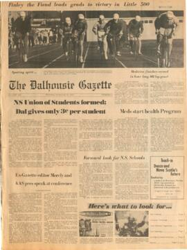 The Dalhousie Gazette, Volume 100, Issue 8