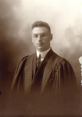 Portrait of Dr. Saul Keshen : Class of 1920