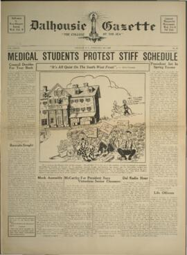Dalhousie Gazette, Volume 70, Issue 15