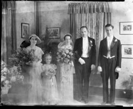 Photograph from the Mrs. T. McLean wedding