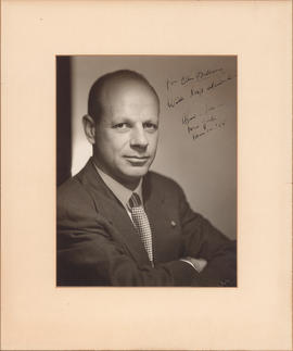 William Schuman : [autographed photograph]