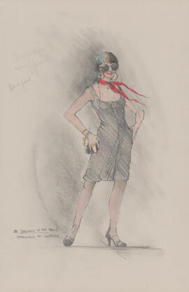 Costume design for Carmen : first costume