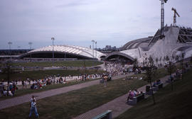 Photograph of the stadium and velodrome