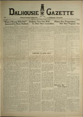 Dalhousie Gazette, Volume 67, Issue 19