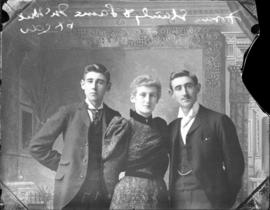 Photograph of Frank McNeil, Stanley and Laura