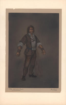 Costume design for John Proctor