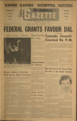 The Dalhousie Gazette, Volume 89, Issue 9