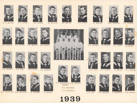 Composite photograph of the Faculty of Medicine - Class of 1939
