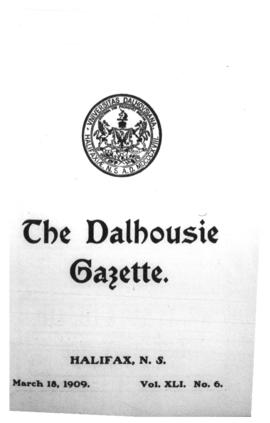 The Dalhousie Gazette, Volume 41, Issue 6