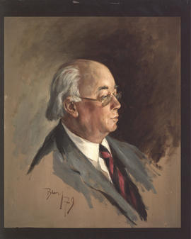 Photograph of a painting of Henry Hicks