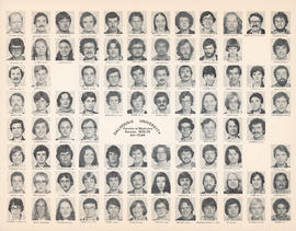 Composite photograph of the Faculty of Medicine - Fourth Year Class, 1978-1979