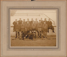 Photograph of Dalhousie Intercollegiate Hockey Team
