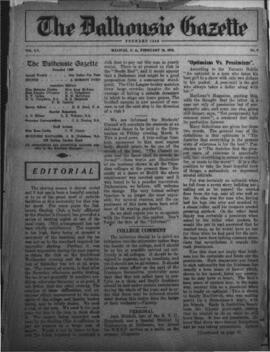The Dalhousie Gazette, Volume 55, Issue 8