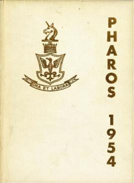 Pharos : Dalhousie University Yearbook 1954