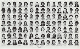 Composite photograph of the Faculty of Medicine - Second Year Class, 1976-1977