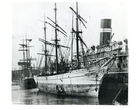 Photograph of the ship Narcissus taken at Glasgow